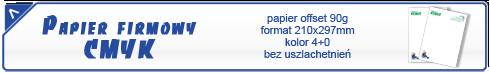 papier firmowy cmyk oferta
